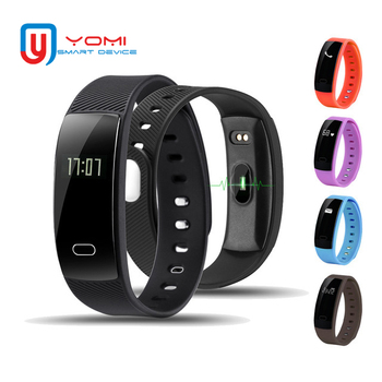 Smart Wristband QS80 IP67 Waterproof Blood Pressure Heart Rate Monitor Fitness Tracker Sports Bracelet Men for IOS/Android new smart bracelet 2019 fitness tracker heart rate blood pressure monitor ip67 waterproof sports smart wristband men android ios