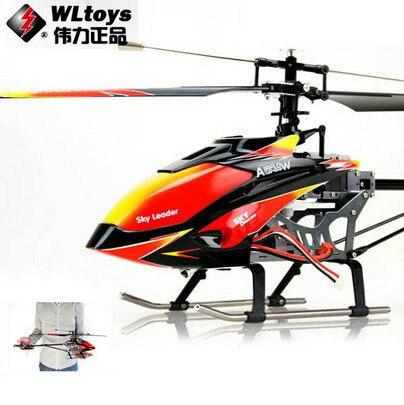 Wl toys v913 sky dancer 4 canales fp helicóptero 2.4 ghz w/built-in giroscopio v