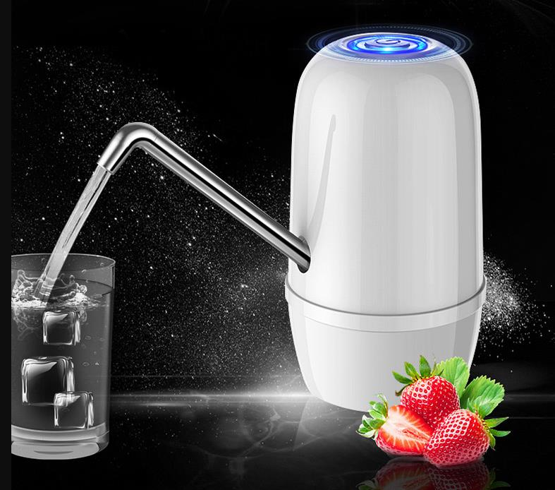 Double pump barreled water pump electric pure barrel water compressor mineral water dispenser household automatic water suction|Water Dispensers| |  - title=