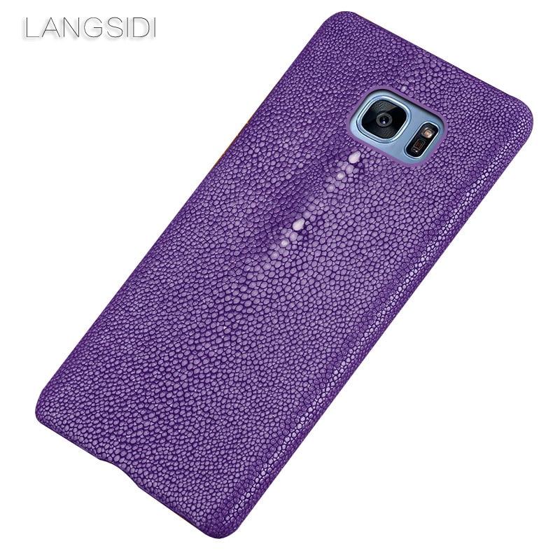 wangcangli brand mobile phone case Pearl fish half a pack for Samsung s7 custom processing