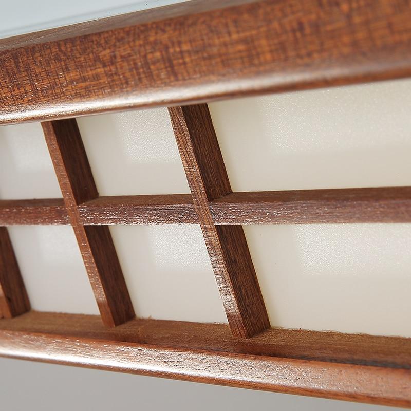 Asiatische Chinesische/Japanischen Stil Deckenleuchte Led Mahagoni Holz  Lichter Deckenleuchten Schlafzimmer Wohnzimmer Dekorationen Beleuchtung In  ...