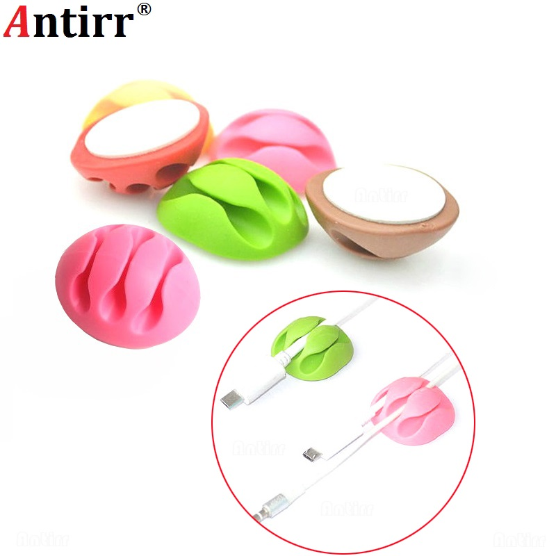 Clip Cable Winder Clamp Protector Earphone Organizer Usb Charger Wire Cord Pen Desk Fixer Line Tidy Collation Management Always Buy Good Cable Winder Digital Cables