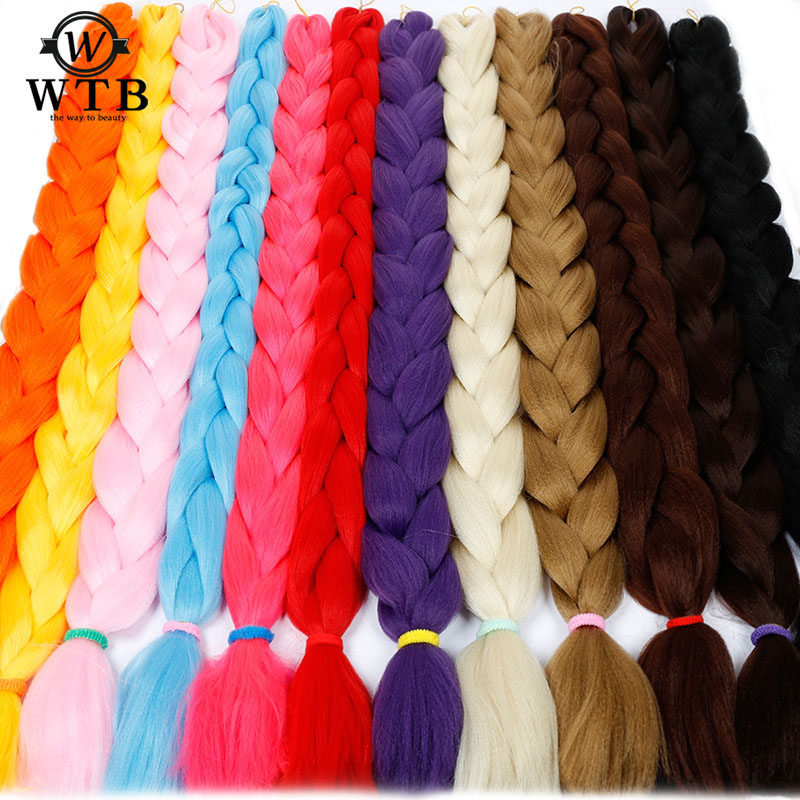 Silky Strands Braiding Hair Bulk 79inch 170g Synthetic Jumbo Braids Hair Extensions Kanekalon Orange Silver Black Mapofbeauty Cheapest Price From Our Site Jumbo Braids