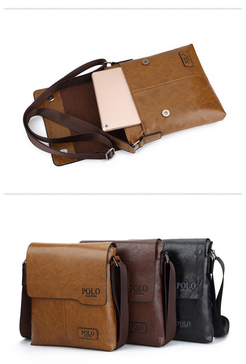 9c38028e83e1 Designer POLO Bags Hot Sale Messenger Bag Men Leather High Quality  Crossbody Man Shoulder Bag. NB402 01 NB402 02 NB402 03 NB402 04 NB402 05 ...