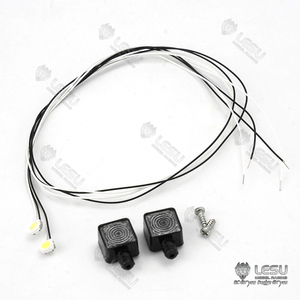 LESU LED Spot Light A Upgraded Part for 1/14 RC Tractor Truck DIY Model Tmy TH02578(China)