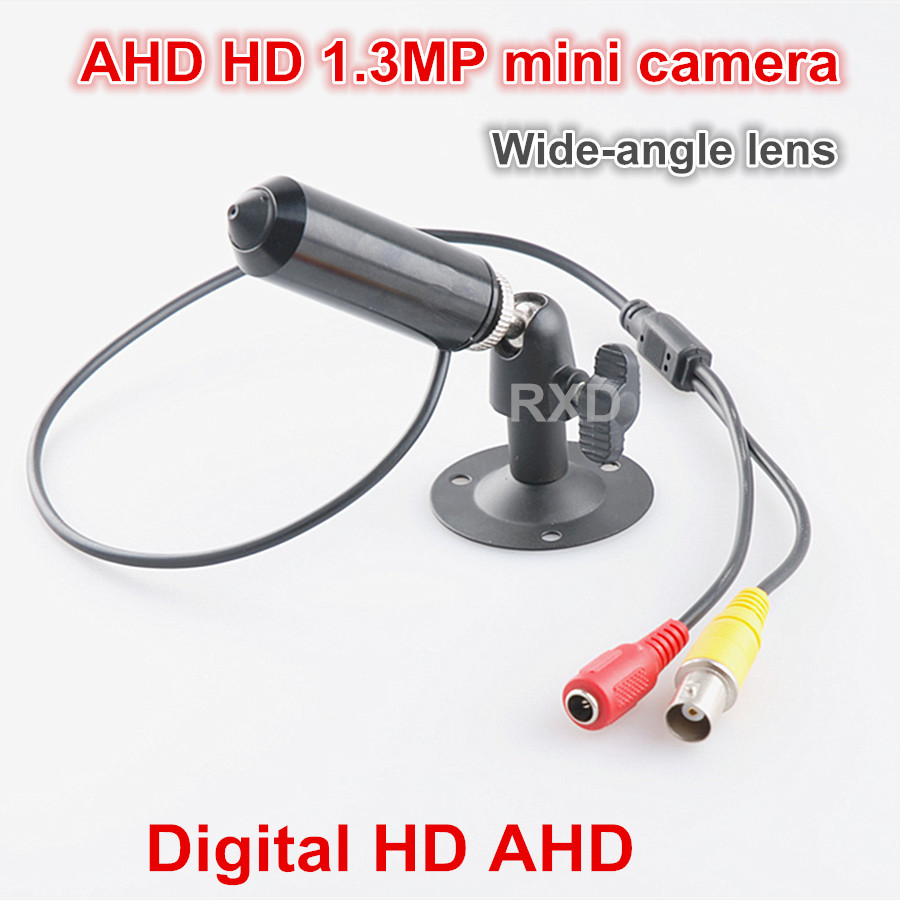 Newest AHD Digital HD 720P 1.3MP Mini CCTV Camera home Security Camera 1200tvl WITH cone Wide-angle 2.8MM lens mini Video CAMENewest AHD Digital HD 720P 1.3MP Mini CCTV Camera home Security Camera 1200tvl WITH cone Wide-angle 2.8MM lens mini Video CAME