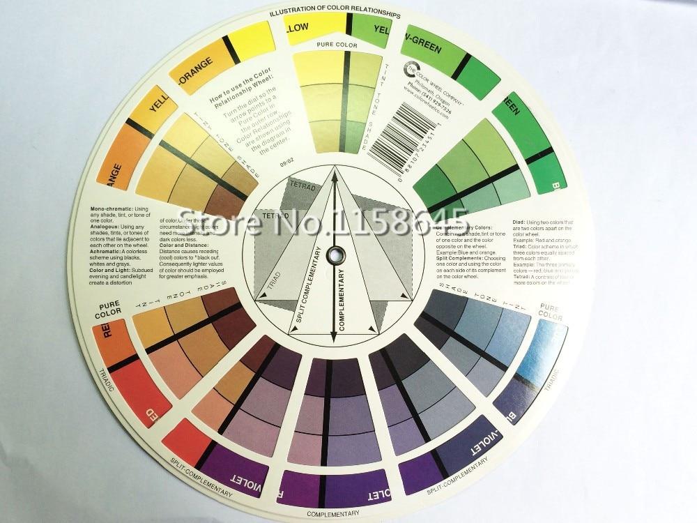 Aliexpress Com Buy Free Ship Brand Micro Pigment Color Wheel Guide