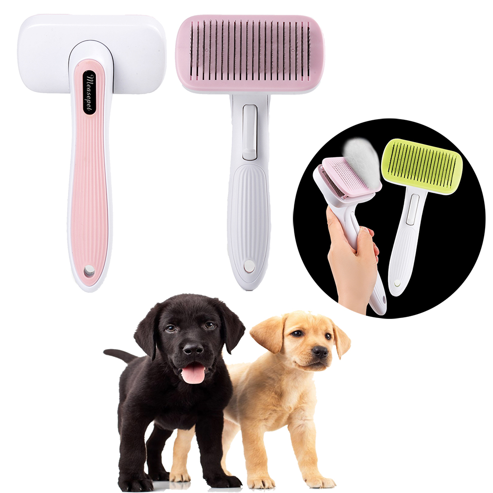 New Arrival Dog Hair Remover Automatic Pet Grooming Tool Puppy Cat Comb