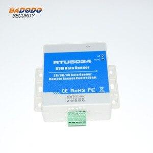 Image 3 - GSM 3G 4G APP SMS fernbedienung einzigen relais schalter GSM tor öffner RTU5034 für schiebe schaukel garage tor türöffner