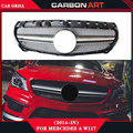 For mercedes-benz w117 cla180 cla 200 cla260 cla300 2013 2014 2015+ Mercedes sport amg front grill silver color