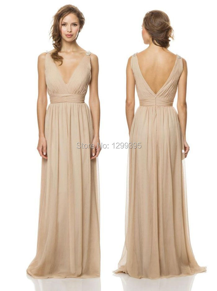 Online Get Cheap Champagne Bridesmaid Dresses -Aliexpress.com ...