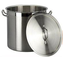 stainless steel pot soup pot stock pots soup barrel shipping many size panela 05 style  71 Liters