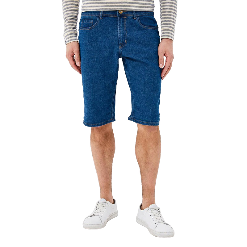 Casual Shorts MODIS M181D00184 man cotton shorts for male TmallFS new summer casual cotton men short jeans fashion brand men s bermuda boardshorts jeans shorts mens ripped plus size 28 36