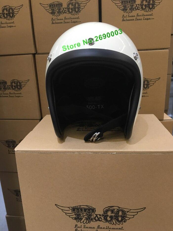 Free Shipping Hot Sale Harley motorcycle Open Face Helmet Brand Japan TT&CO Thompson Glass Steel Vintage motorcycle helmet