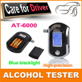 New 2015 Hot luxury Police Digital LCD Alcohol Breath Testers Breathalyzers Analyzer Detector Free Shipping