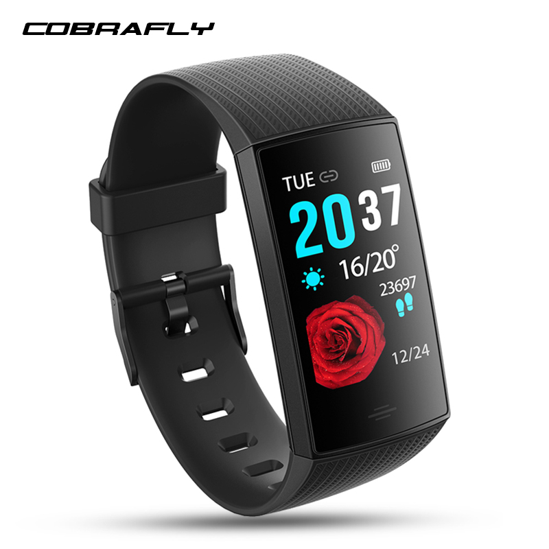 COBRAFLY CY11 Smart Band Waterproof Smart Watch Men Women Smart Wristband Bracelet Fitness Tracker Smartband For Android And IOS