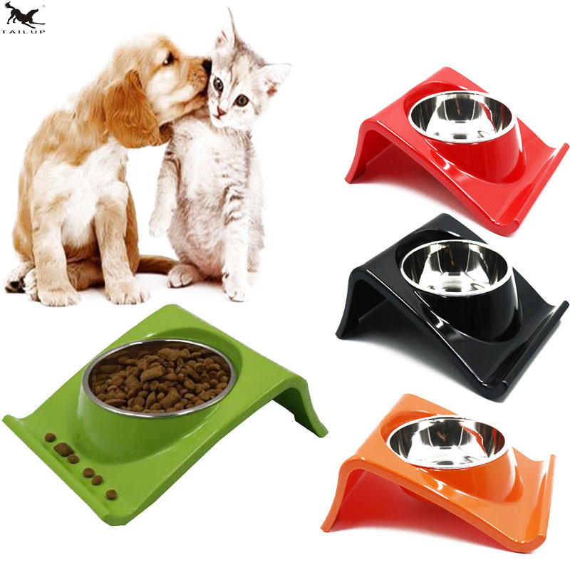 TAILUP 210ml Stainless Steel Dog Bowl Pet