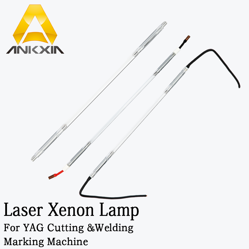 Laser Xenon Tube Xe Lamp For Yag Laser Cutting Welding Marking Machine Flash Pulsed Bulb laser xenon lamp x8 125 270 5 use for laser welding machine laser mark machine other size also can be making