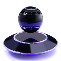 2016 Fancy Christmas Gift Smart Wireless Speaker Bluetooth Magnetic Levitating Speaker With Touch Buttons And Led