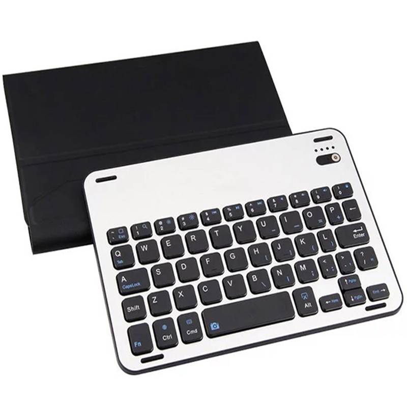 цены  ocube For Apple iPad Mini 2 Mini 3 Aluminum Alloy Wireless Bluetooth Keyboard PU Leather Case Cover For Apple Mini1/2/3 7.9