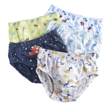 5 Pcs/lot Kids Boys Underwear Cartoon For Baby Shorts Panties Children's Boxer Underpants Briefs boys Underware Pants For 3-14 Y