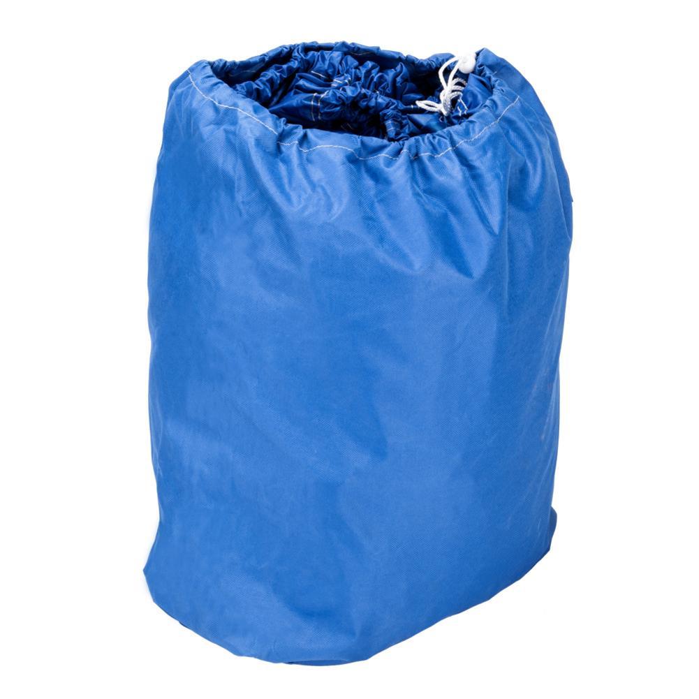 17-19 Ft Kit de couverture de bateau 600D Oxford tissu de haute qualité couverture de bateau imperméable couverture de bateau avec sac de rangement bleu de haute qualité