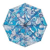 Оригинальный Дизайн Новый полностью ручной наружное зонт дождь мода гарантия 12 месяцев ветрозащитный Защита от солнца дождь дамы зонтик дл...