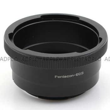 AF Confirm lens adapter work for Pentacon 6 P6 Lens to Suit for EOS EF 600D 450D 400D 350D 300D 1200D(T5/X70)