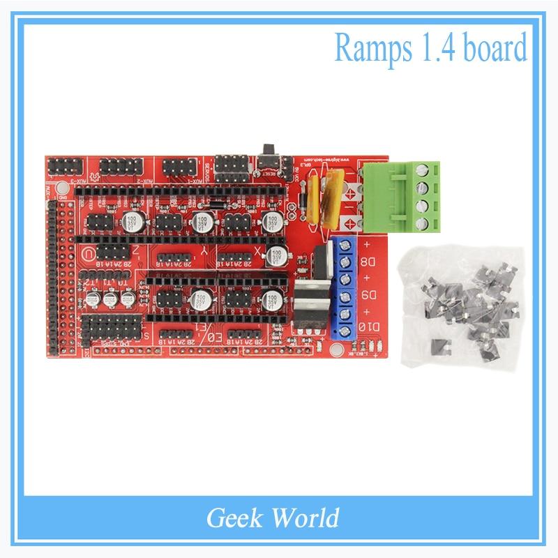 1pcs 3D Printer Electronic RAMPS 1.4 Cons