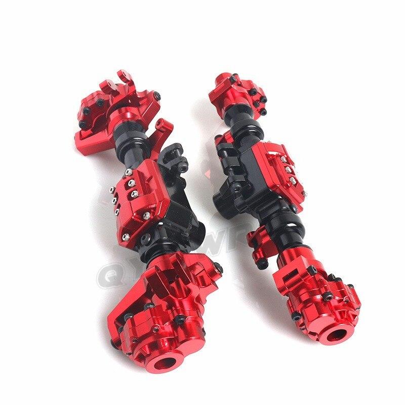 Металл RC автомобиль передний/задний мост 1/10 RC Рок Гусеничный Для осевой WRAITH 90018 90020 90045 RR10 90048 90053 RC запчасти - 2