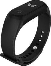 Модные спортивные смарт-браслет A16 Bluetooth Smart часы здоровья запястье браслет монитор сердечного ритма для мужчин и женщин Android IOS