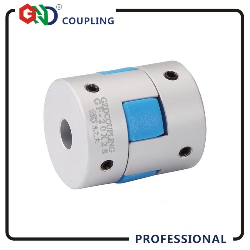 где купить GND gear hole minimum 3mm maximum 16mm Jaw D30 L40 shaped setscrew series flexible coupling shaft coupler servo motor coupling по лучшей цене