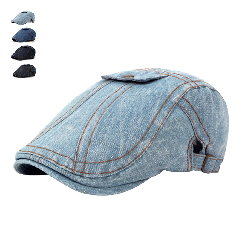 Moda de primăvară de primăvară jeans Pălării pentru bărbați - Accesorii pentru haine