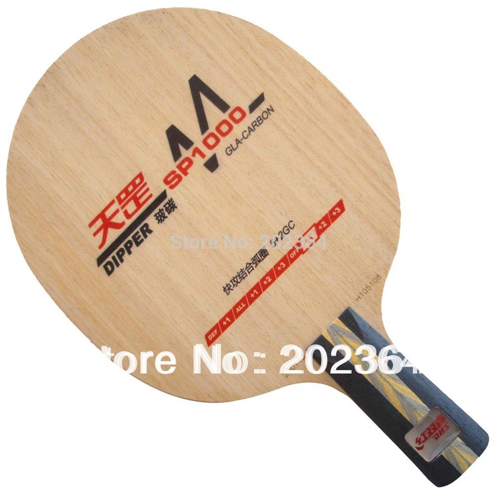 ФОТО Table Tennis Blade for Ping Pong Racket penhold short handle CS DHS Dipper SP1000 SP 1000 SP-1000 DM.SP1000 GLA-Carbon OFF+