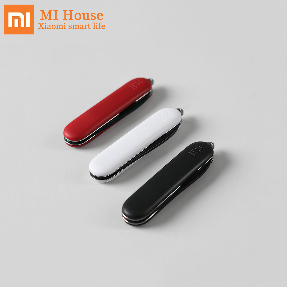 Xiaomi Mijia Huohou Mini Unpacking Knife Foldable Cut Tool Camp Tool Open Package Outdoor Survive Clip Camp Sharp Cutter Мотоцикл