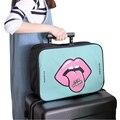 Mujeres Bolsa de viaje de Nylon de Gran Capacidad 2 Colores Bolsa Weekender Travel Duffle Bag Embalaje Cubos 48% OFF X034