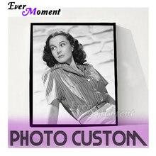 Ever Moment Custom Photo, peinture en diamant 5D, à bricolage soi même, perceuse carrée, Photo en strass de décoration, S2F2000