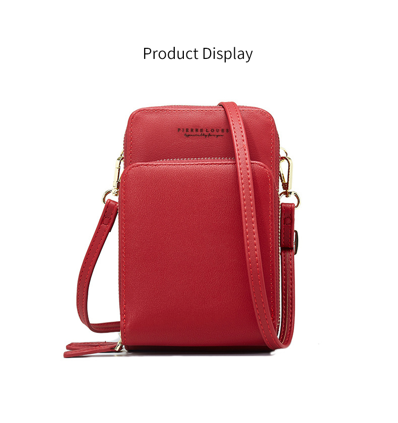 Drop Shipping Colorful Cellphone Bag Fashion Daily Use Card Holder Small Summer Shoulder Bag for Women 6