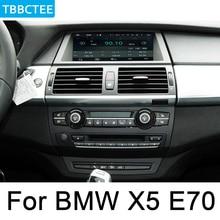 Для BMW X5 E70 2011-2013 CIC Автомобильный мультимедийный Android Авторадио автомобильный проигрыватель с радио и GPS Bluetooth WiFi зеркальная навигационная карта