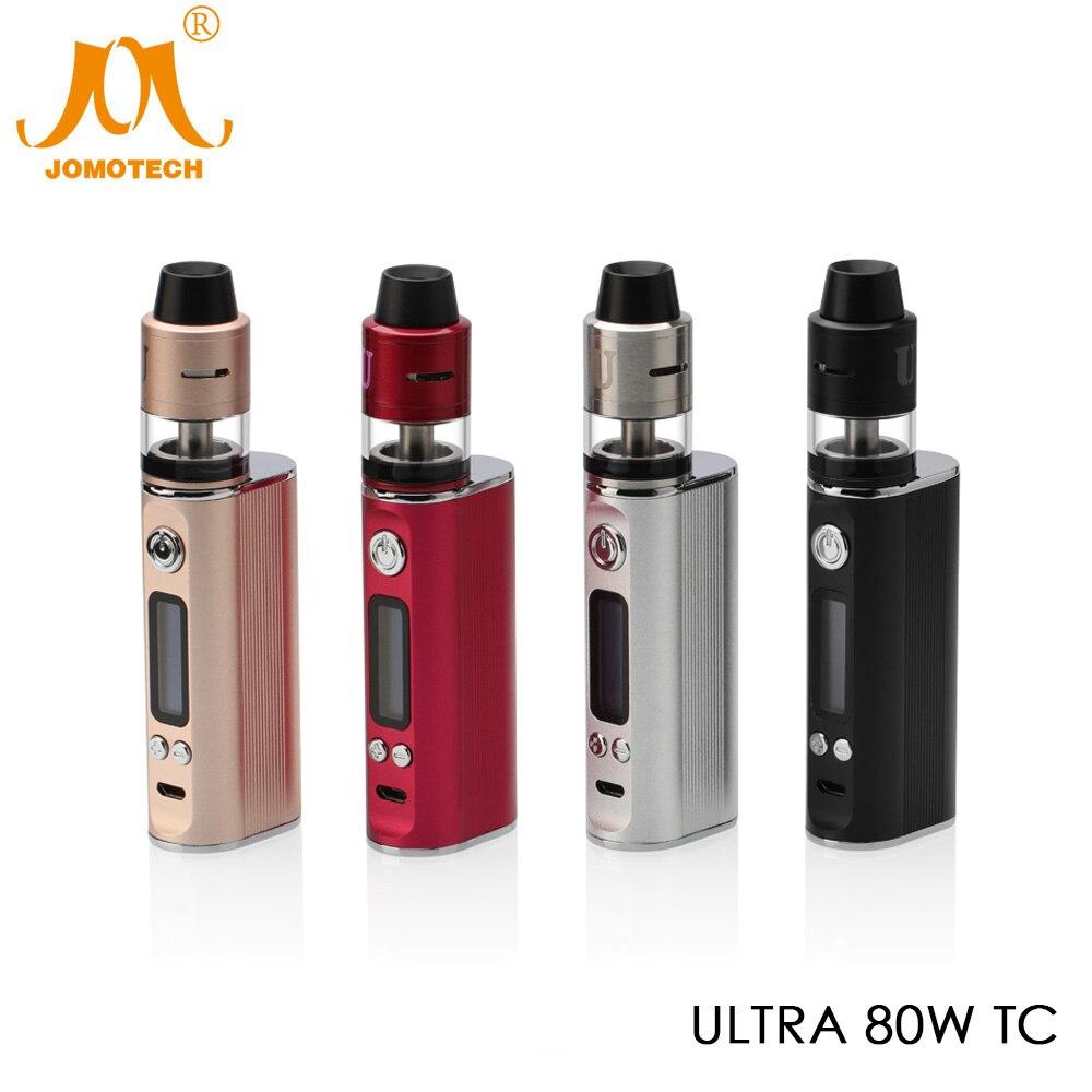 Russo Consegna JomoTech 80 w TC Box Mod Sigaretta Elettronica 2600 mah Vape Mod 80 w Kit E-sigaretta con RDTA Atomizzatore Jomo-181