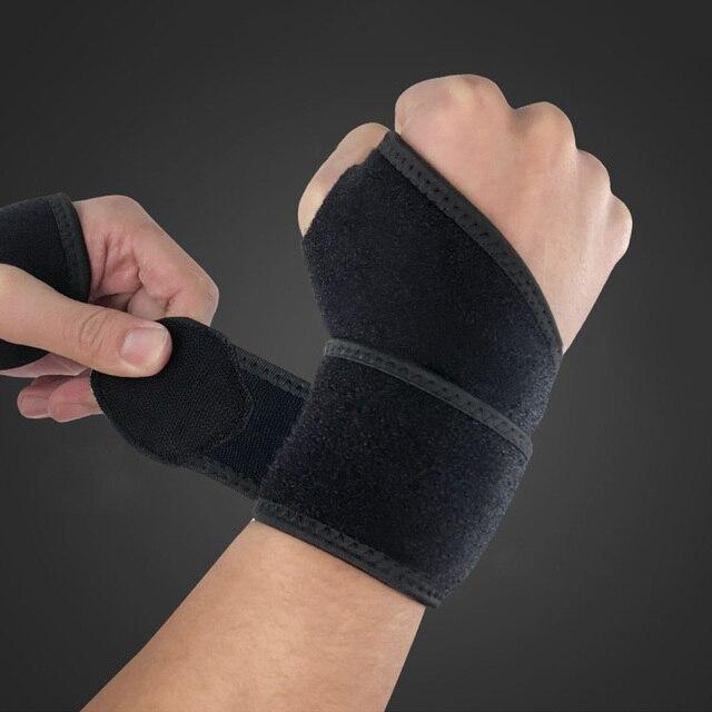 1 шт браслет спортивный напульсник защитный браслет brace обертывания для поддержки запястья повязка на руку munhequeira tunel carpiano schweissband