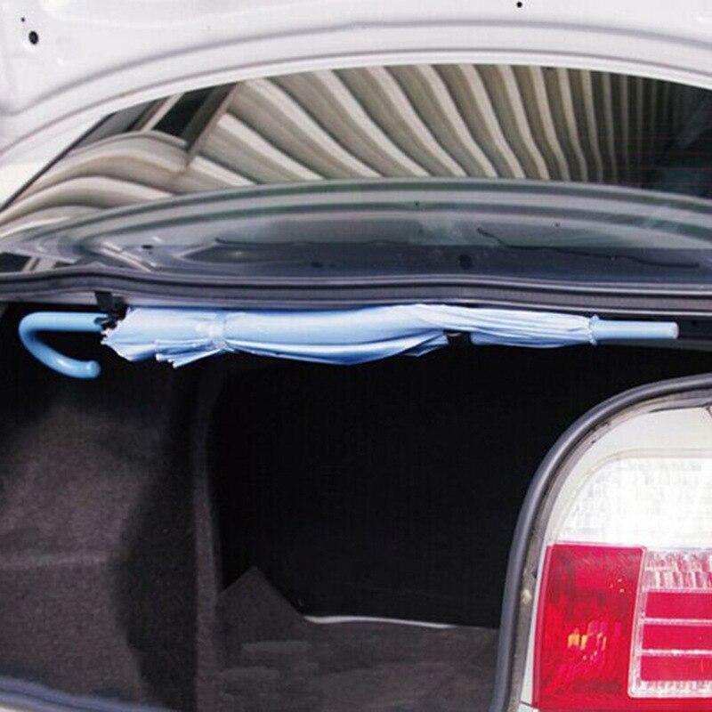 CHIZIYO 2 unids/lote soporte de paraguas organizador de maletero de coche soporte de montaje de coche gancho de toalla para paraguas paño de limpieza gancho colgante