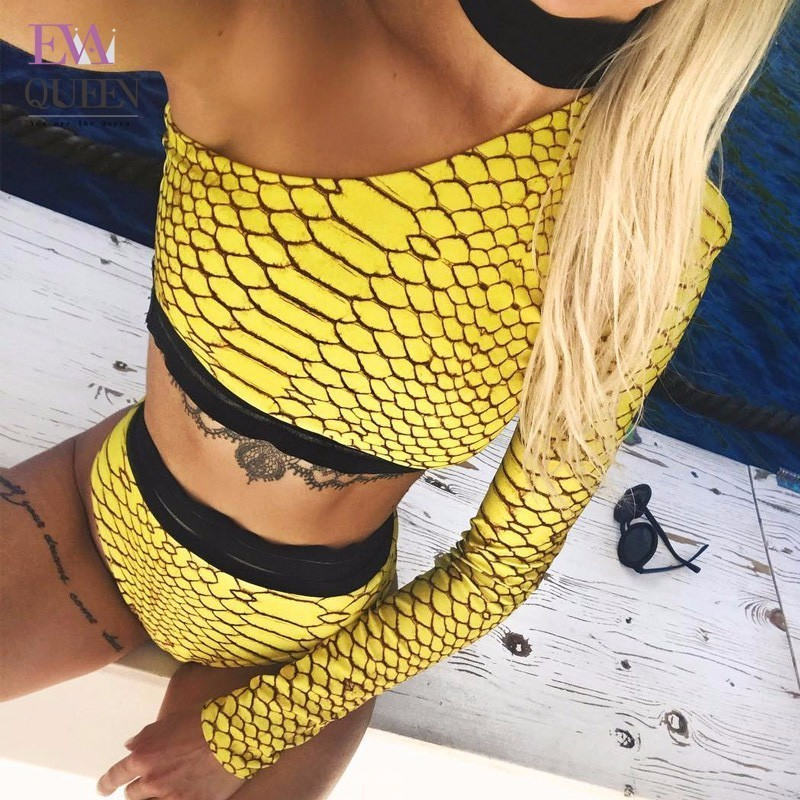 Tobinoone Womens Bodysuit Patchwork Yellow One Shoulder Checkerboard Femme Bodysuits Skinny Beachwear Plaid Fashion Body Suits