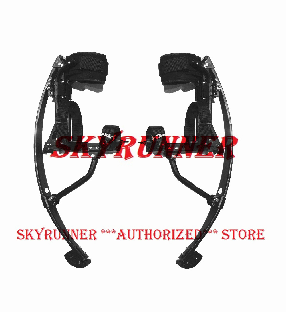 NEW ARRIVAL Jump Stilt Skyrunner For Adult black Bounce Stilts Men Jumping Stilts