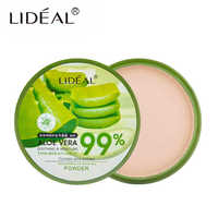 LIDEAL Professional Makeup Powder Compact Pressed Soft Setting Powder Face Contour Palette Makeup Concealer Pore Cover Whitening