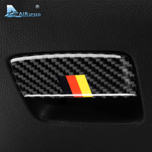 Airspeed for Mercedes Benz A Class CLA 13-18 GLA 15-18 Carbon Fiber Car Interior Storage Box Handle Switch Cover Trim Stickers