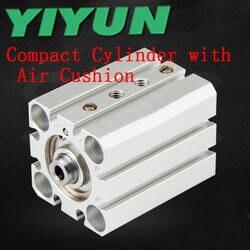 YIYUN пневматические компоненты тонкий компактный цилиндр с воздушной подушкой RDQB25-15 RDQB25-20 RDQB25-30 RDQB25-40 RDQB25-50 RQ серии
