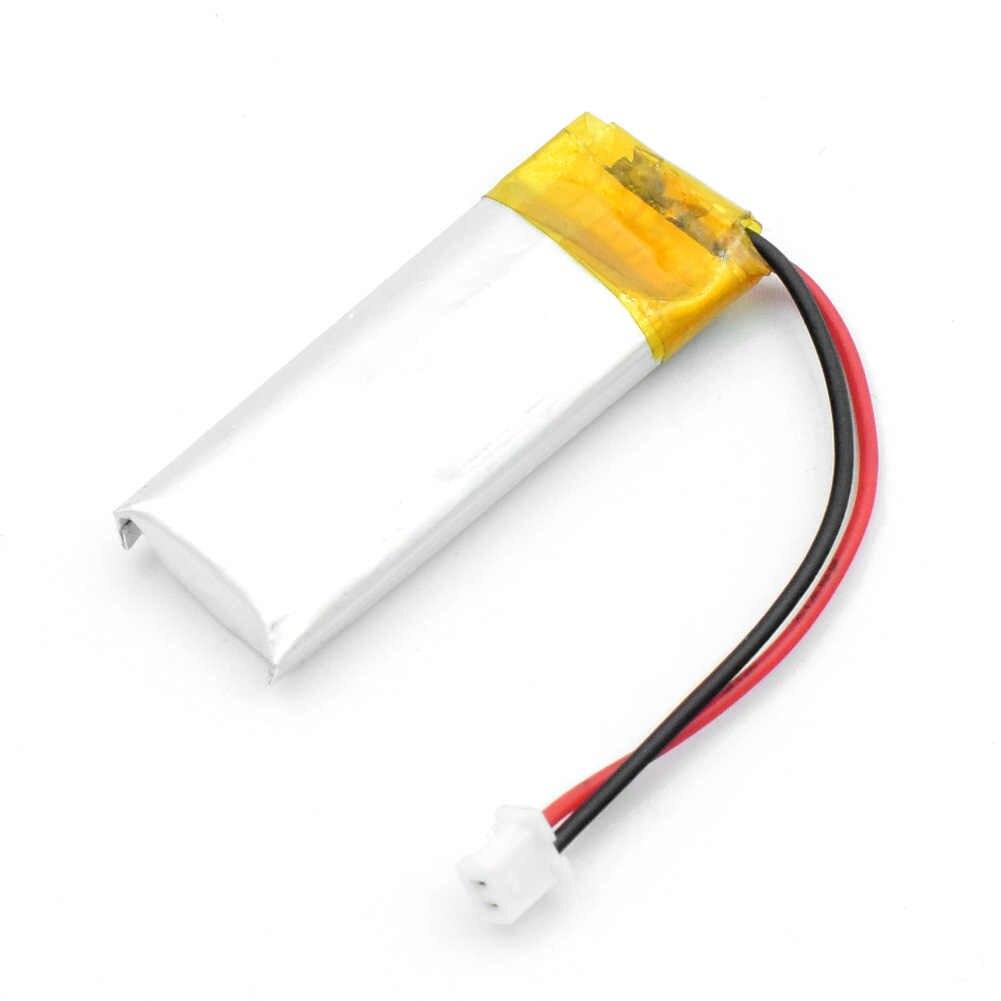 3.7V lityum polimer şarj edilebilir pil 501230 130mah kamera MP3 MP4 ses kaydedici Bluetooth hoparlörler kulaklıklar piller