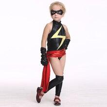 Halloween Masked Superman Girls Kids Superhero Costume Party Supplies Hero Cosplay Ek83