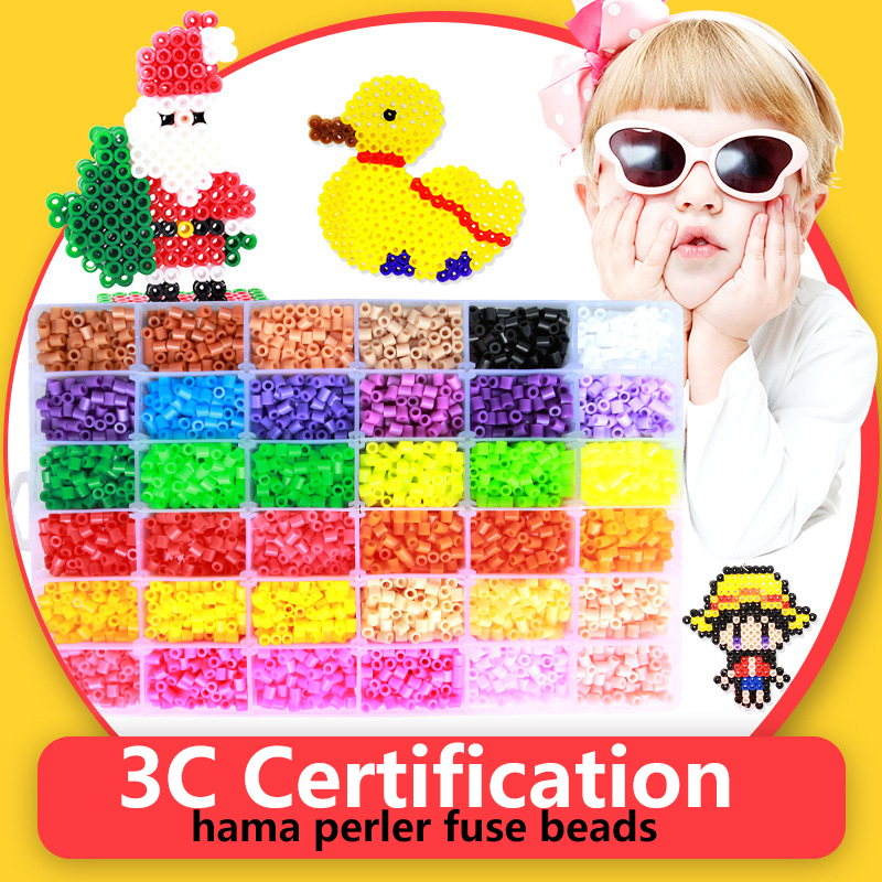 New 5mm Hama Beads Perler Fuse Beads 48 Colours 12000pcs Kids Handmaking Toys Gifts Educational Jigsaw Puzzle DIY Toys 1000pcs lot 5mm hama perler beads eva kids children diy handmaking fuse bead intelligence educational toys craft 9 colors